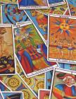 Tarot Notebook Large Size 8.5 x 11 Ruled 150 Pages Cover Image