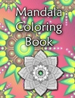 Mandala coloring book: 8.5x11 inches 65 pages Cover Image