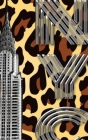 Iconic Chrysler Building New York City Leopard Drawing Writing journal Cover Image