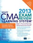 Wiley CMA Learning System Exam Review 2013, Financial Planning, Performance and Control, Online Intensive Review + Test Bank Cover Image
