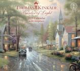 Thomas Kinkade Painter of Light with Scripture 2019 Deluxe Wall Calendar Cover Image