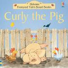 Curly the Pig Board Book Cover Image