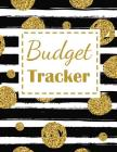 Budget Tracker: Stop Wasting Time and Start Your Budget Tracker Black and White with Old Flake Design Cover Image