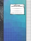 Graph Paper Composition Notebook: 110 Pages Quad Ruled 4x4 8.5 x 11: Large Notebook with Grid Paper Math Notebook For Students Cover Image