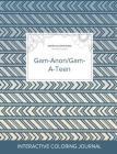 Adult Coloring Journal: Gam-Anon/Gam-A-Teen (Safari Illustrations, Tribal) Cover Image