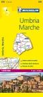Michelin Umbria, Marche, Italia (Michelin Maps #359) Cover Image