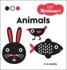 Animals: A Baby Montessori Book Cover Image