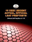 10 Very Recent Actual, Official LSAT Preptests: Official LSAT Preptests 61-70 (Cambridge LSAT) Cover Image