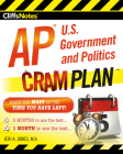 CliffsNotes AP U.S. Government and Politics Cram Plan Cover Image