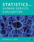 Statistics for Human Service Evaluation Cover Image