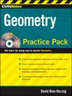 CliffsNotes Geometry Practice Pack with CD Cover Image