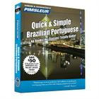 Pimsleur Portuguese (Brazilian) Quick & Simple Course - Level 1 Lessons 1-8 CD: Learn to Speak and Understand Brazilian Portuguese with Pimsleur Language Programs Cover Image