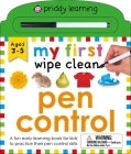 My First Wipe Clean: Pen Control Cover Image