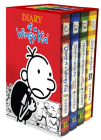 Diary of a Wimpy Kid Box of Books 1-4 Cover Image