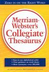 Merriam-Webster's Collegiate Thesaurus Cover Image
