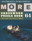 Large Crossword puzzles for Seniors: crossword puzzles for men - More Large Print Crosswords Game - Hours of brain-boosting entertainment for adults a Cover Image