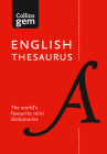 Collins Gem English Thesaurus Cover Image