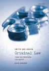 Smith and Hogan Criminal Law: Cases and Materials Cover Image
