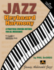 Jazz Keyboard Harmony: A Practical Voicing Method for All Musicians, Spiral-Bound Book & CD Cover Image