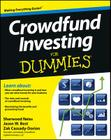 Crowdfund Investing for Dummies Cover Image