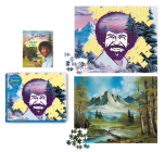 Bob Ross 2-in-1 Double-Sided 500-Piece Puzzle Cover Image