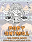 Baby Animal - Coloring Book - Echidna, Gorilla, Gecko, Tiger, other Cover Image