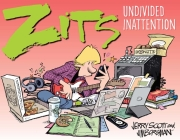 Zits: Undivided Inattention Cover Image