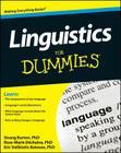 Linguistics for Dummies Cover Image