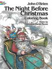 The Night Before Christmas Coloring Book (Dover Holiday Coloring Book) Cover Image
