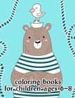 Coloring Books For Children Ages 6-8: Detailed Designs for Relaxation & Mindfulness Cover Image