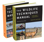 The Wildlife Techniques Manual, 1: Volume 1: Research. Volume 2: Management. Cover Image