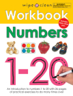 Wipe Clean Workbook Numbers 1-20 (Wipe Clean Learning Books) Cover Image