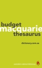 Macquarie Budget Thesaurus Cover Image