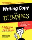 Writing Copy for Dummies Cover Image