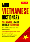 Mini Vietnamese Dictionary: Vietnamese-English / English-Vietnamese Dictionary (Tuttle Mini Dictionary) Cover Image