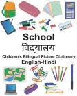 English-Hindi School Children's Bilingual Picture Dictionary Cover Image