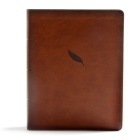 CSB Legacy Notetaking Bible, Tan LeatherTouch Cover Image