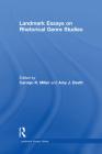 Landmark Essays on Rhetorical Genre Studies Cover Image