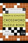 Simon and Schuster Crossword Puzzle Book #229: The Original Crossword Puzzle Publisher Cover Image