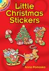 Little Christmas Stickers (Dover Little Activity Books) Cover Image