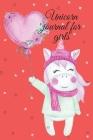 Unicorn journal for girls Cover Image