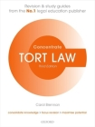 Tort Law Concentrate: Law Revision and Study Guide Cover Image