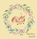 Woodland Baby Shower Guest Book (Hardcover) Cover Image