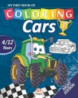 My first book of coloring - cars 1 - Night edition: Coloring Book For Children 4 to 12 Years - 27 Drawings - Volume 1 Cover Image