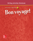 Bon Voyage! Level 1, Writing Activities Workbook Cover Image