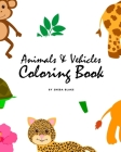 Animals and Vehicles Coloring Book for Children (8x10 Coloring Book / Activity Book) Cover Image