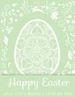 Happy Easter Anti-Stress Mandala Coloring Book Pea Cover Image