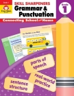 Skill Sharpeners Grammar and Punctuation, Grade 1 Cover Image