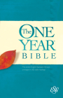 ESV One Year Bible (Softcover) Cover Image