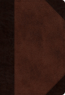 ESV New Testament (Trutone, Brown/Walnut, Portfolio Design) Cover Image